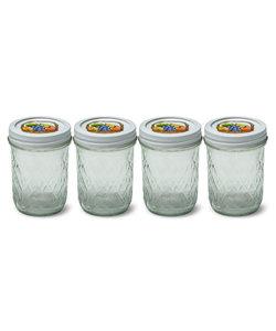 PB Part   4 Mason Jars (230 ml)