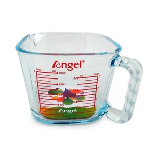 Angel Accessories | Glass Jar for Juice Collecting