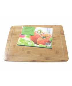 Imperial Kitchen Bamboo Cutting Board With Trench 25 x 35 x 1,8 cm