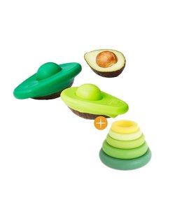 Food Huggers Avocado + Food Huggers Fresh Greens