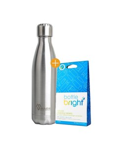 Made Sustained Knight Bottle 500ML + Free Bottle Bright Cleaning tablets