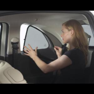 Sonniboy zonneschermen Volkswagen Polo 3 deurs bouwjaar 2009 t/m 2017 | alleen de achterste zijschermen