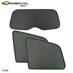 Sonniboy zonneschermen Fiat Punto Evo 3 deurs bouwjaar 2009 t/m 2012