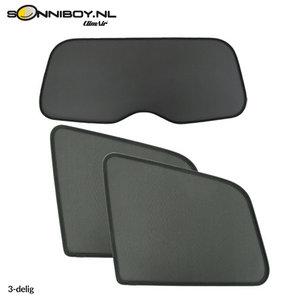 Sonniboy zonneschermen Mini One & Cooper 3 deurs bouwjaar 2006 t/m 2014