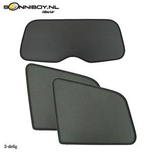 Sonniboy zonneschermen Mazda 2 | 5 deurs bouwjaar 2007 t/m 2015