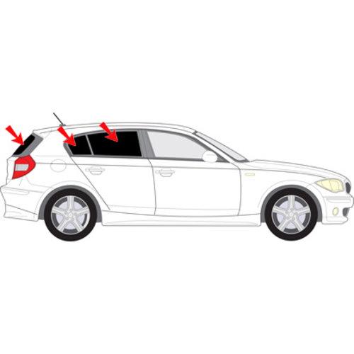 Sonniboy zonneschermen Sonniboy zonneschermen BMW 1 serie 5 deurs bouwjaar 2004 t/m 2011