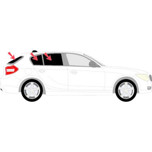Sonniboy zonneschermen Sonniboy zonneschermen BMW 1 serie 5 deurs bouwjaar 2011 t/m 2015