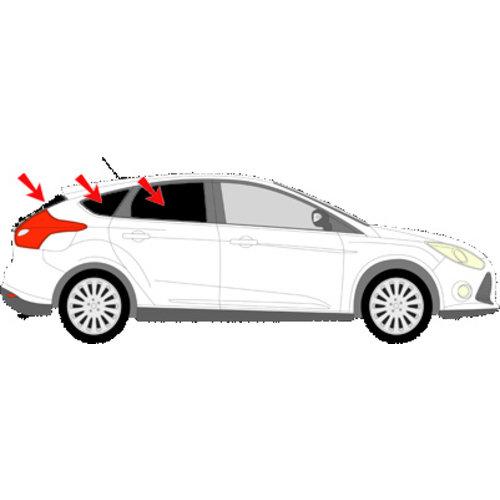 Sonniboy zonneschermen Sonniboy zonneschermen Ford Focus   5 deurs bouwjaar 2011 t/m 2018