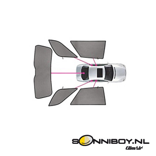 Sonniboy zonneschermen Sonniboy zonneschermen Volkswagen Touareg bouwjaar 2010 t/m 2018