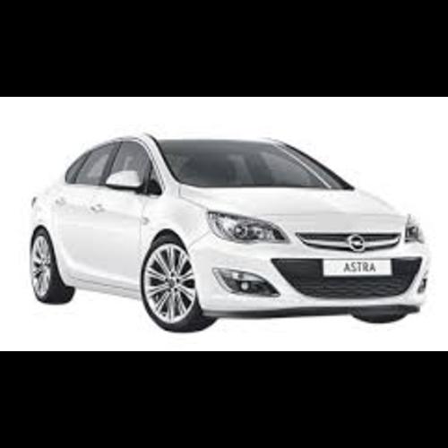Autozonwering voor de Opel Astra