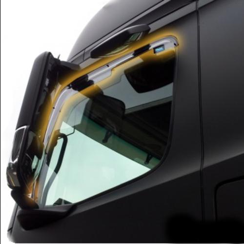 Vrachtwagen zijwindschermen