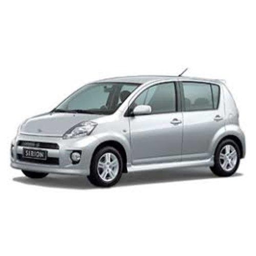 Autozonwering voor de Daihatsu Sirion