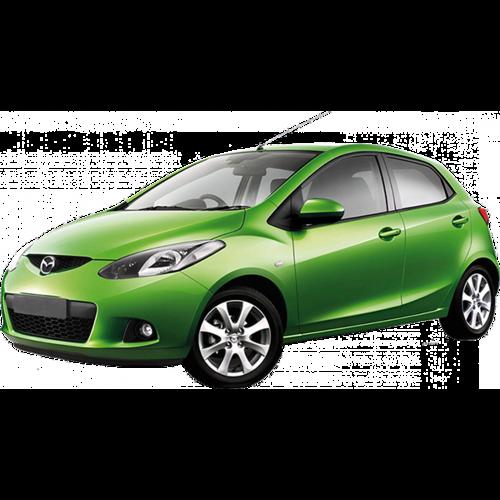 Autozonwering voor de Mazda 2