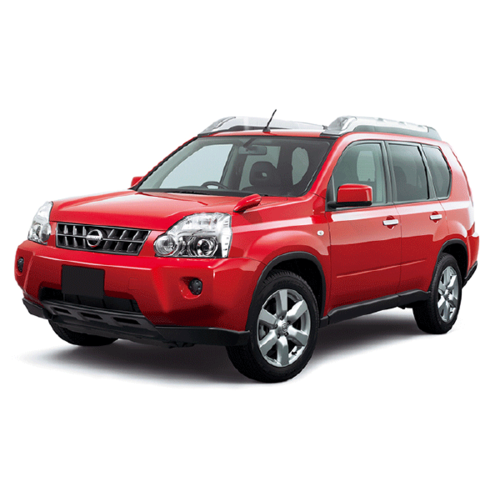 Autozonwering Nissan X-Trail