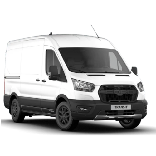 Dakdragers Ford Transit (grote bus)