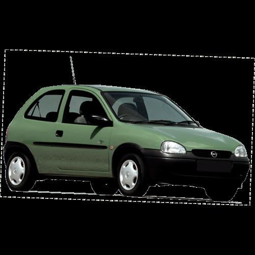 Dakdragers Opel Corsa B   bouwjaar 1993 t/m 2000