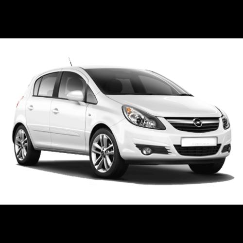 Dakdragers Opel Corsa D | bouwjaar 2006 t/m 2015