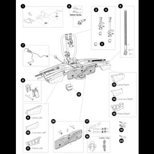 Thule Onderdelen Thule EasyFold XT2 933
