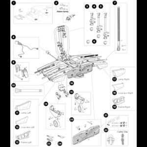 Thule Onderdelen Thule EasyFold XT3 934