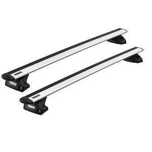 Thule Ford Focus | wagon | bouwjaar 2018 t/m heden | gesloten dakrailing | Thule WingBar silver