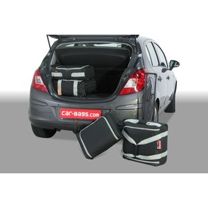 Car-Bags Opel Corsa Hatchback | bouwjaar 2006 t/m 2014 | CarBags reistassenset