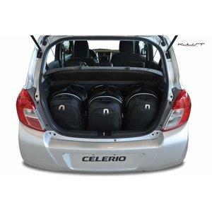 Kjust Suzuki Celerio | bouwjaar 2014 t/m heden | Kjust Car Bags | set van 3