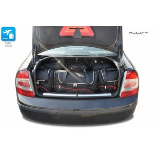 Kjust Skoda SuperB Sedan | bouwjaar 2001 t/m 2008 | Kjust Car Bags | set van 6
