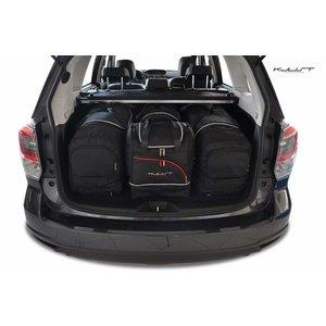 Kjust Subaru Forester | bouwjaar 2013 t/m 2019 | Kjust Car Bags | set van 4