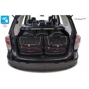 Kjust Subaru Forester | bouwjaar 2013 t/m 2019 | Kjust Car Bags | set van 5