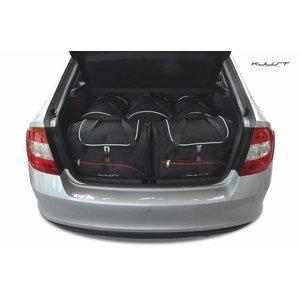 Kjust Skoda Rapid Liftback | bouwjaar 2013 t/m 2017 | Kjust Car Bags | set van 5