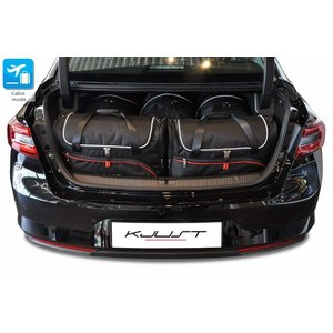 Kjust Renault Talisman Sedan   bouwjaar 2016 t/m heden   Kjust Car Bags   set van 5