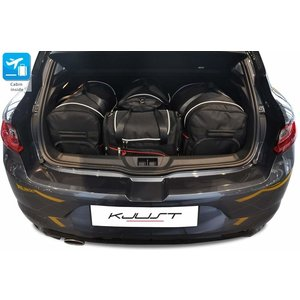 Kjust Renault Megane Hatchback | bouwjaar 2016 t/m heden | Kjust Car Bags | set van 4