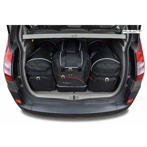 Kjust Renault Scenic | bouwjaar 2003 t/m 2009 | Kjust Car Bags | set van 4