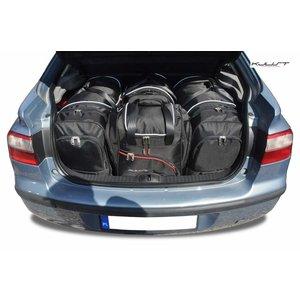Kjust Renault Laguna Hatchback | bouwjaar 2001 t/m 2007 | Kjust Car Bags | set van 4