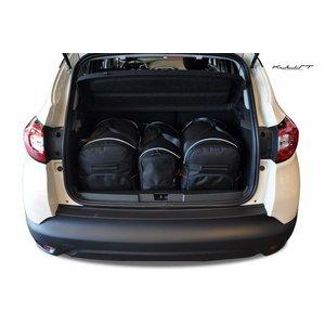 Kjust Renault Captur | bouwjaar 2013 t/m 2019 | Kjust Car Bags | set van 3
