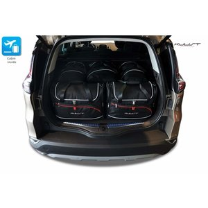 Kjust Renault Espace | bouwjaar 2015 t/m heden | Kjust Car Bags | set van 5