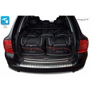 Kjust Porsche Cayenne | bouwjaar 2002 t/m 2010 | Kjust Car Bags | set van 5