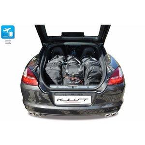 Kjust Porsche Panamera | bouwjaar 2009 t/m 2016 | Kjust Car Bags | set van 4
