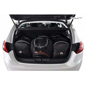 Kjust Peugeot 308 Hatchback | bouwjaar 2013 t/m heden | Kjust Car Bags | set van 4