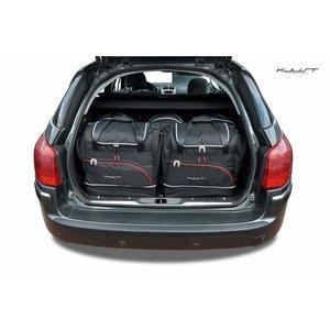 Kjust Peugeot 407 SW   bouwjaar 2004 t/m 2011   Kjust Car Bags   set van 5
