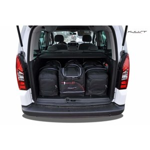 Kjust Peugeot Partner | bouwjaar 2008 t/m 2019 | Kjust Car Bags | set van 4
