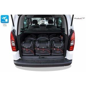Kjust Peugeot Partner | bouwjaar 2008 t/m 2019 | Kjust Car Bags | set van 6