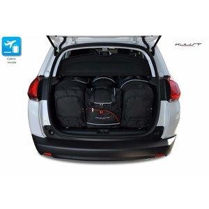 Kjust Peugeot 2008 | bouwjaar 2013 t/m 2019 | Kjust Car Bags | set van 4