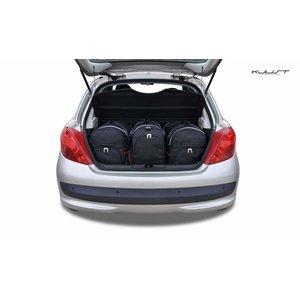 Kjust Peugeot 207 | bouwjaar 2006 t/m 2013 | Kjust Car Bags | set van 3
