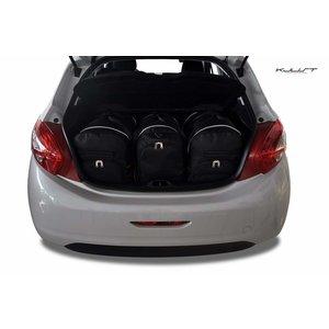 Kjust Peugeot 208 | bouwjaar 2012 t/m 2019 | Kjust Car Bags | set van 3