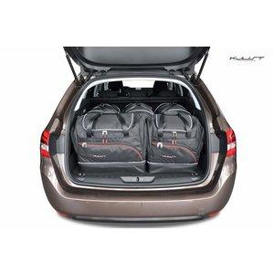 Kjust Peugeot 308 SW | bouwjaar 2013 t/m heden | Kjust Car Bags | set van 5
