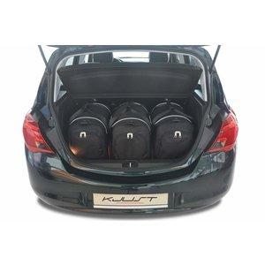 Kjust Opel Corsa Hatchback | bouwjaar 2014 t/m 2019 | Kjust Car Bags | set van 3