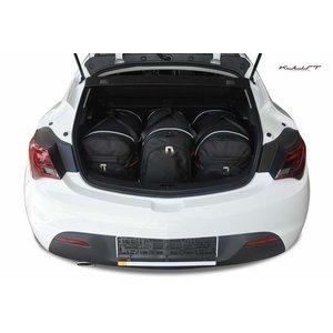Kjust Opel Astra GTC | bouwjaar 2012 t/m 2017 | Kjust Car Bags | set van 3