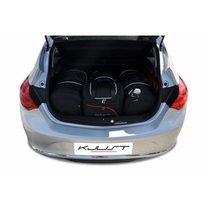 Kjust Opel Astra Hatchback | bouwjaar 2009 t/m 2015 | Kjust Car Bags | set van 4