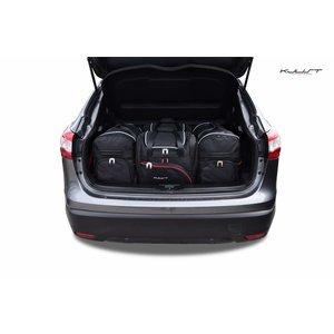 Kjust Nissan Qashqai | bouwjaar 2014 t/m heden | Kjust Car Bags | set van 4